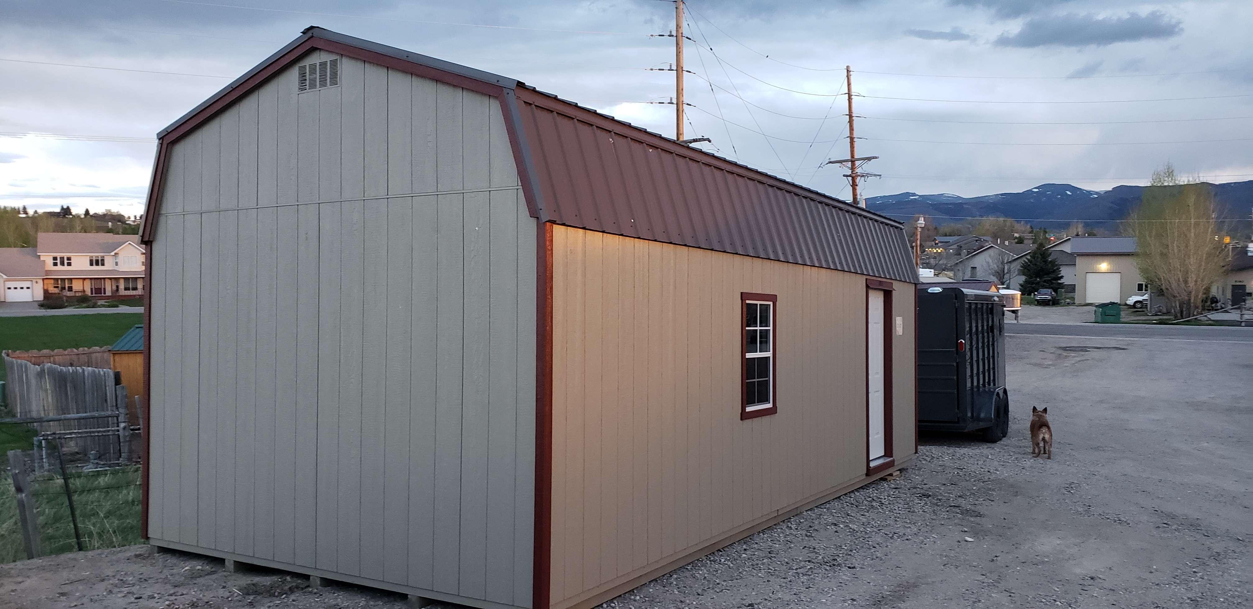 GARAGE (Single) Hi-Side Barn Style