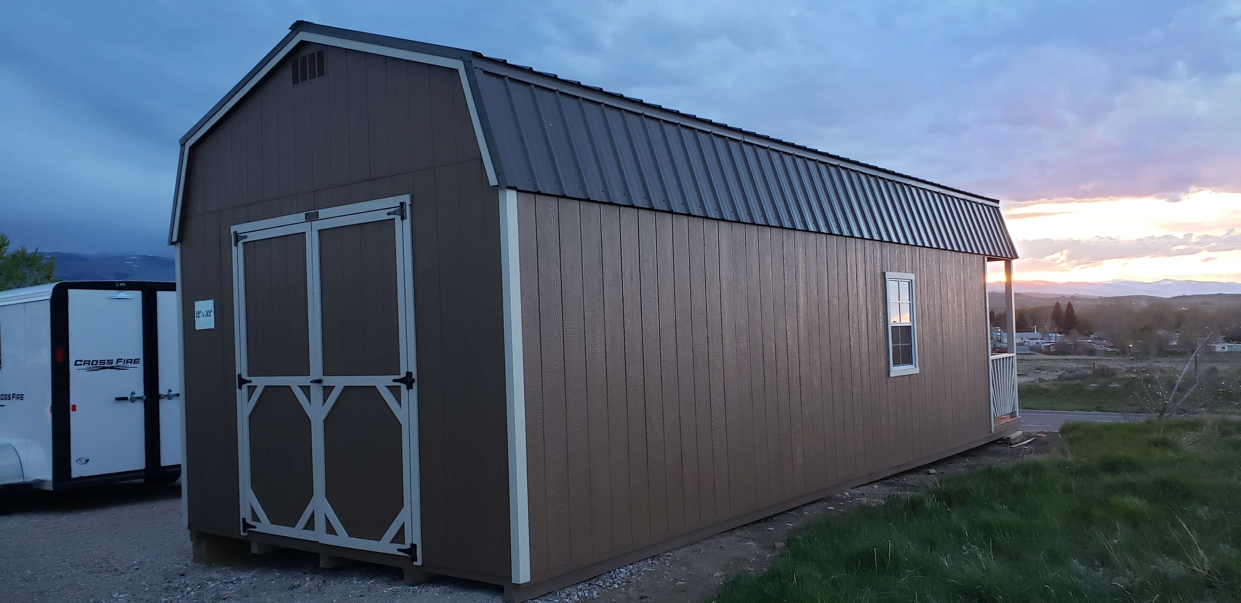 Cowboy Sales Trailer Amp Auto 187 Outfitter Gambrel Roof