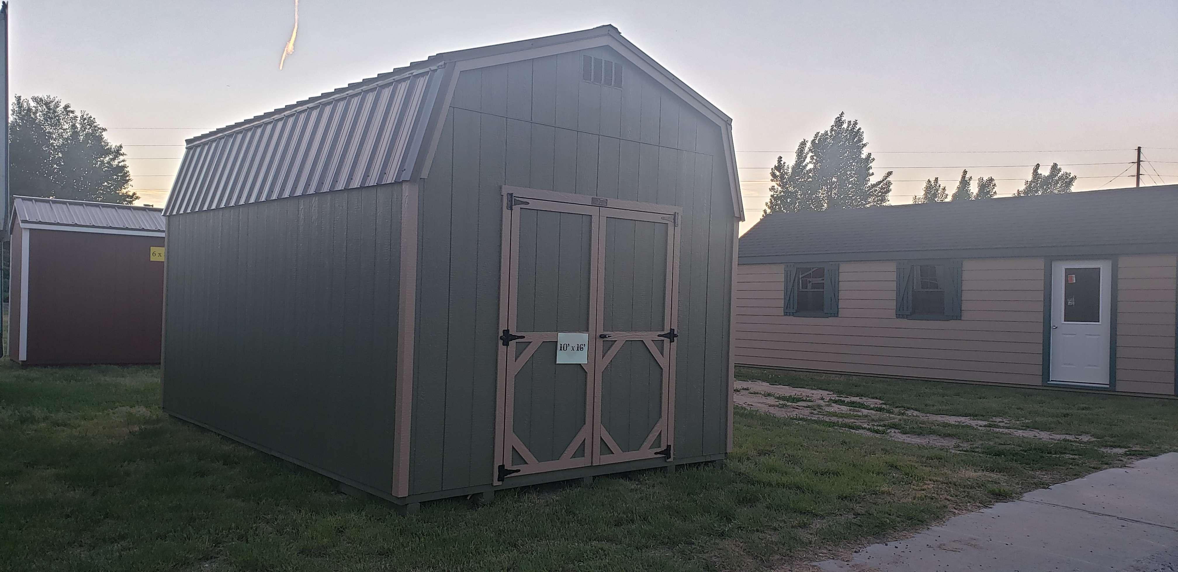 Hi-Side Barn Shed
