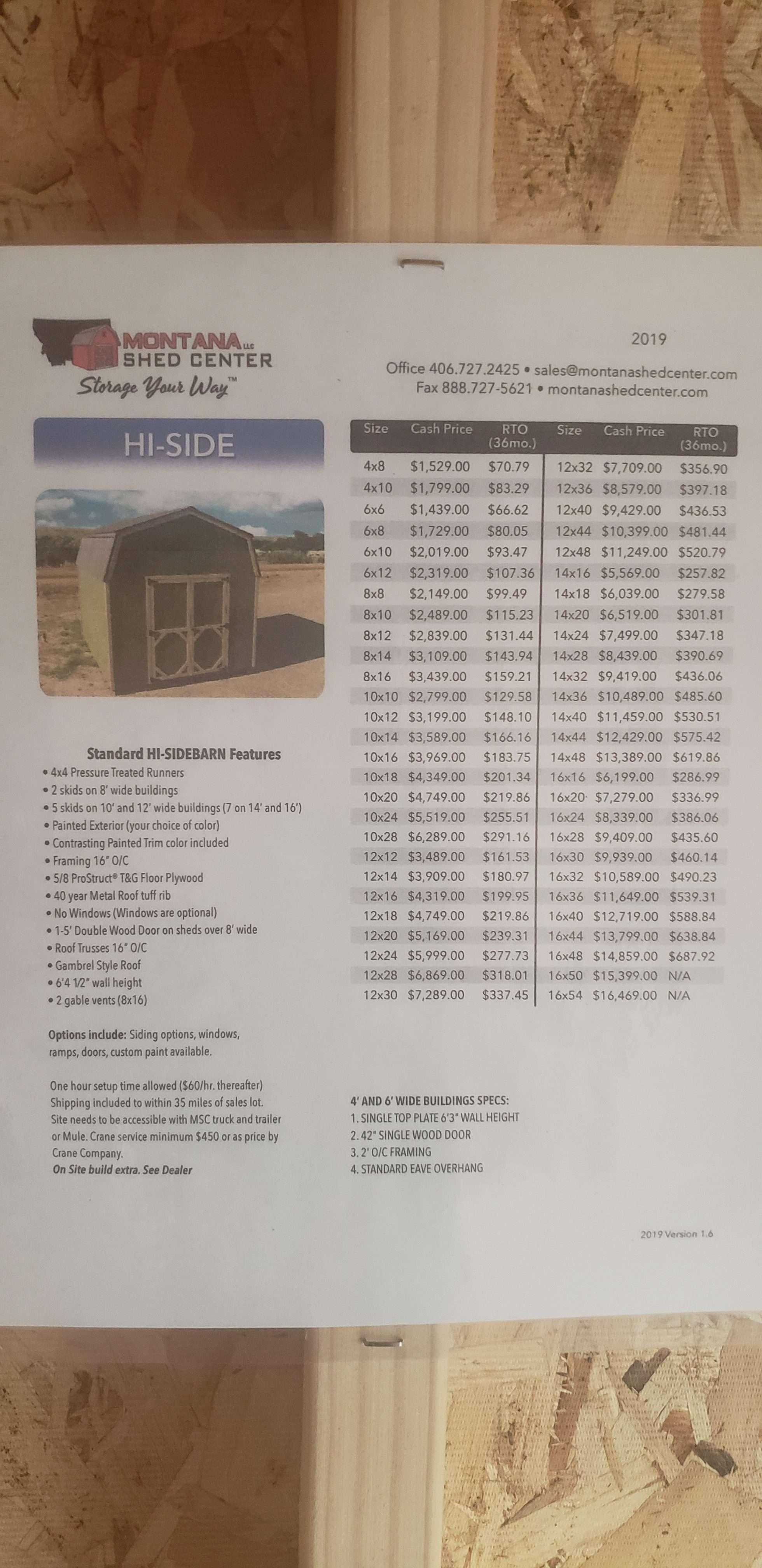 HI-SIDE 10 X16
