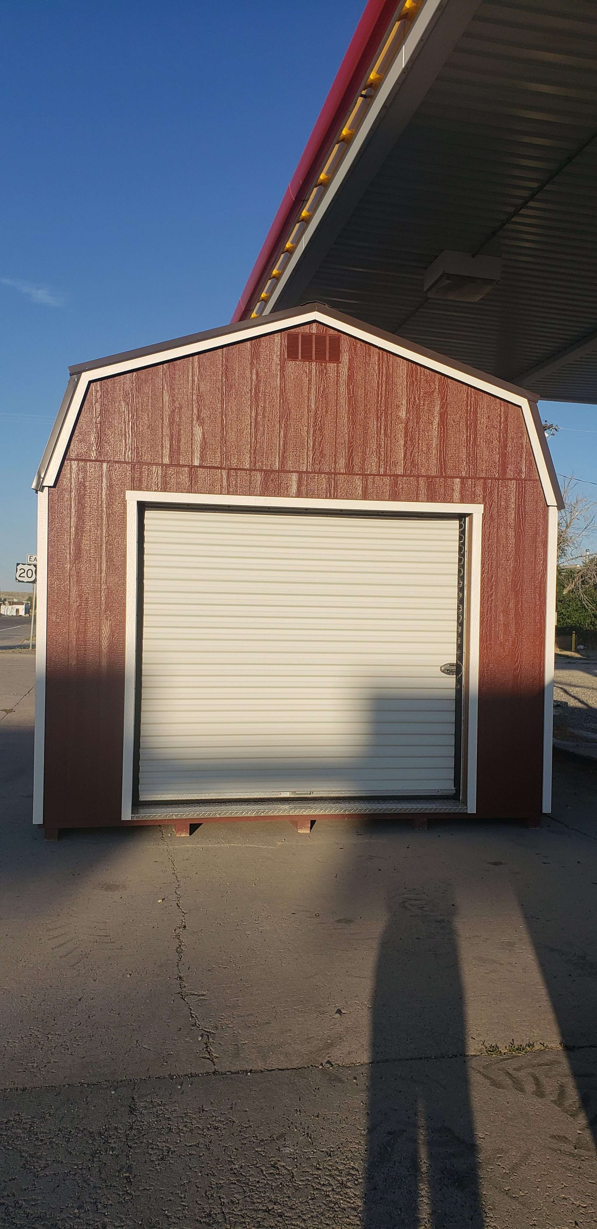 HI-SIDE GARAGE  12 x 30